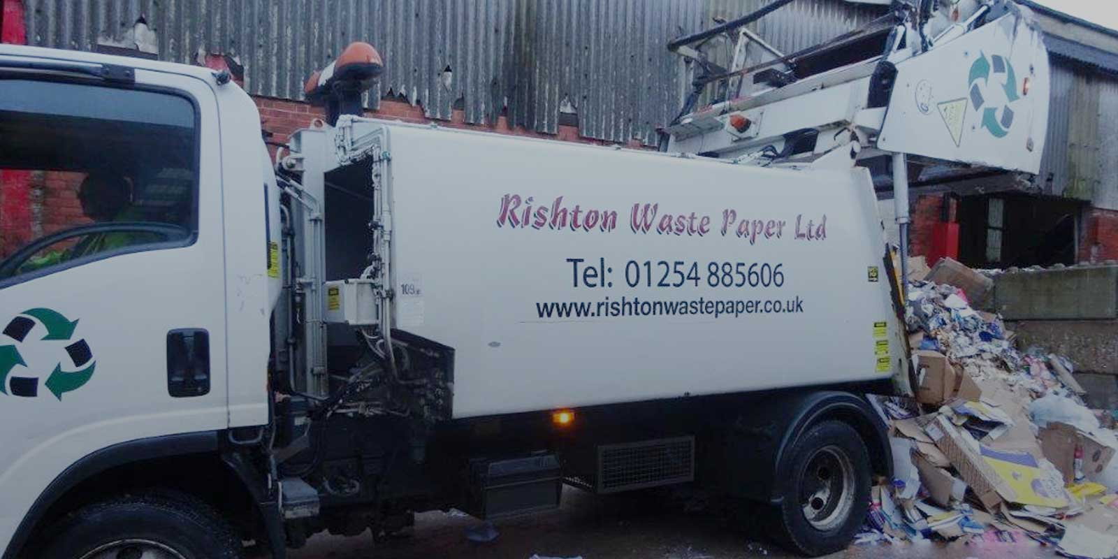 Paper Processing and Recycling Services in Lancashire